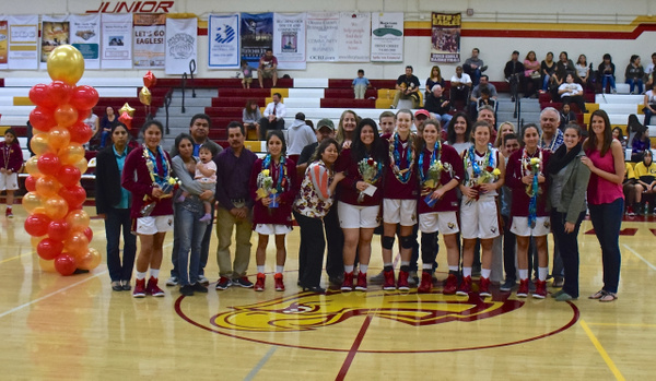Girls Varsity 'Senior Night' vs Godinez 2/11/15 by Robert Pettingill
