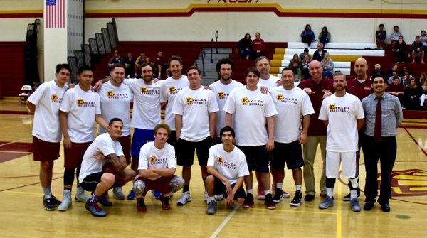 2015 Estancia Alumni Game, Alumni vs Varsity by Robert Pettingill