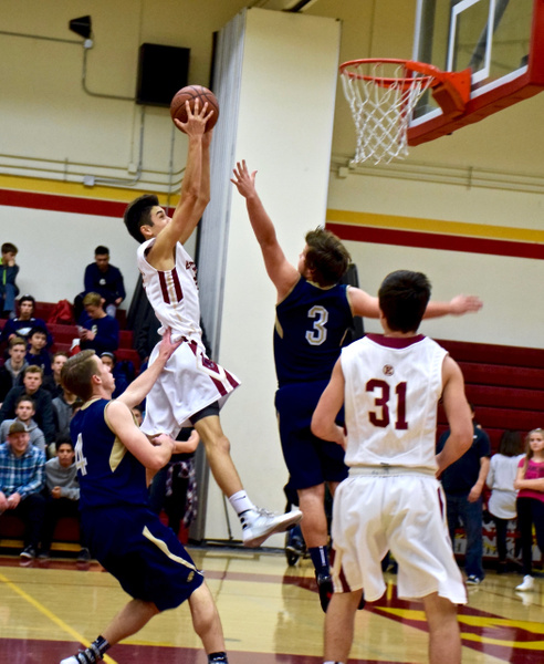 Varsity, JV, & Freshman vs Calvary Chapel 1/13/16 by Robert Pettingill