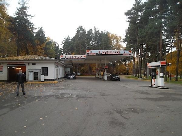GAS STATION by Svetlana Punte