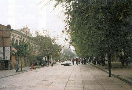 %22German Street%22 in Saratov, Volga by Svetlana Punte