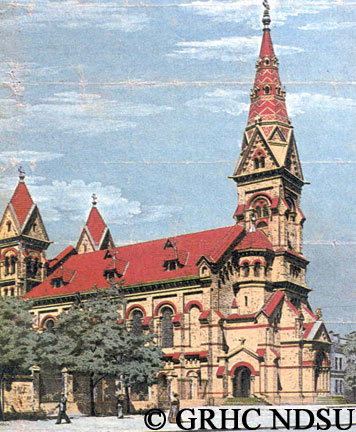 St. Paul's Evangelical Lutheran Church, Odessa by...