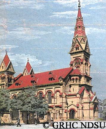 St. Paul's Evangelical Lutheran Church, Odessa