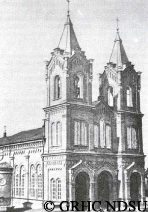 Klemens Cathedral in Saratov, Volga region
