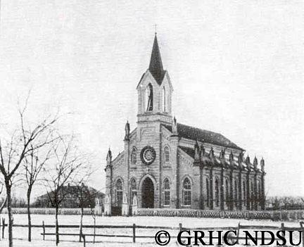 Evangelical church in Eugenfeld, Tauren by Svetlana Punte