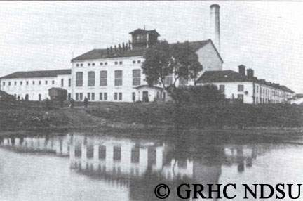 Sugar factory in the Golovtschino area, Kursk