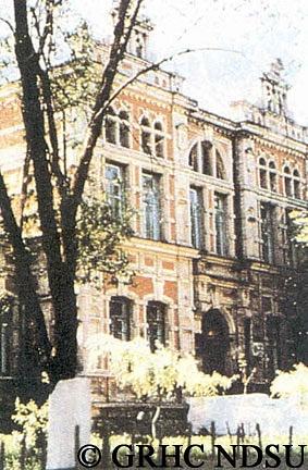 Girls' school in Chortitza, Ukraine by Svetlana Punte