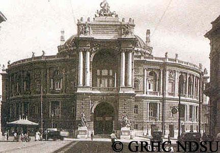 Opera house in Odessa