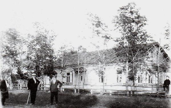 Школа в Миролюбовке. 1910 г. by...
