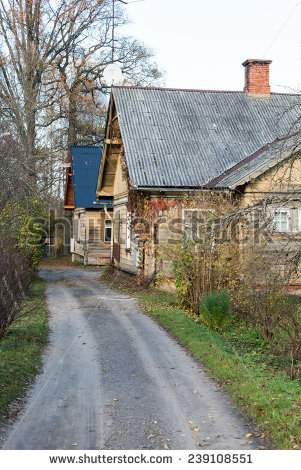 stock-photo-view-of-small-country-town-of-ligatne-latvia-village-scenes-ligatne-latvia-239108551