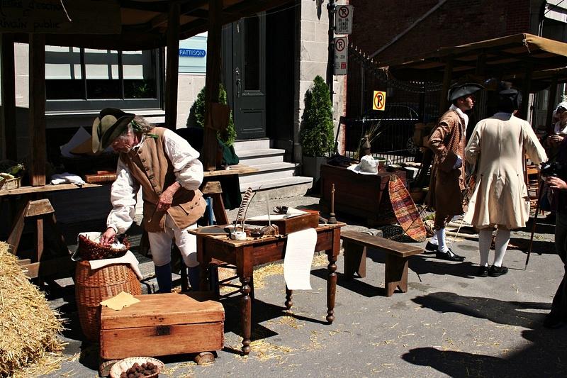 Montreal 18 Jh Markt 097