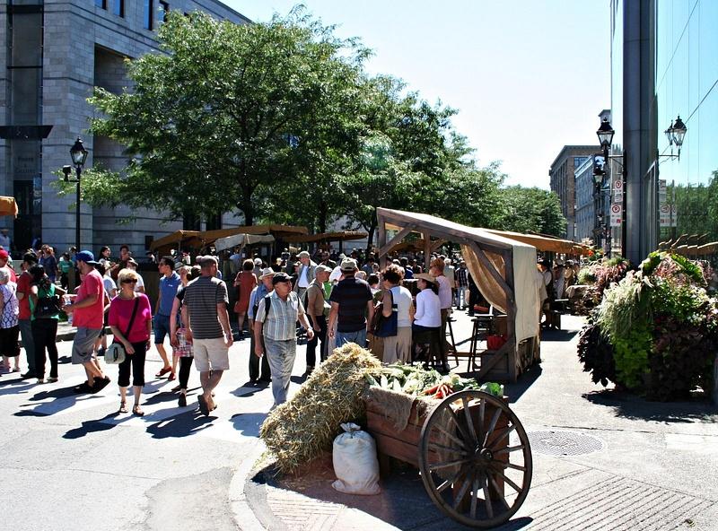 Montreal 18 Jh Markt 119