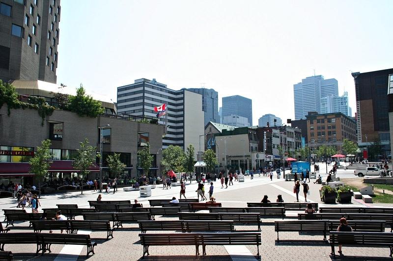 Montreal Mittagspause 118