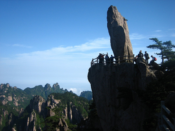 HuangShan 174 FlyingOverRock by StefsPictures
