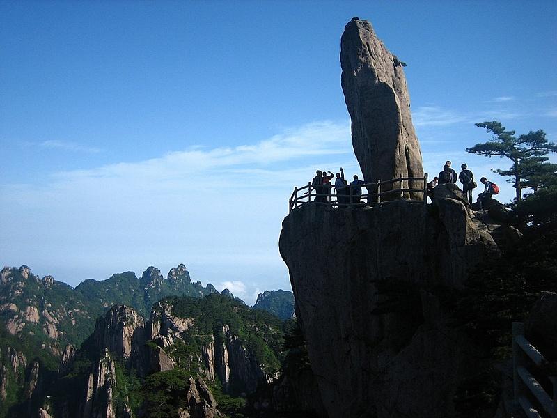HuangShan 174 FlyingOverRock