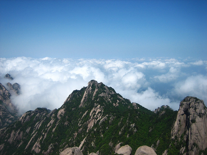HuangShan 190 LotusPeak HeavenSea