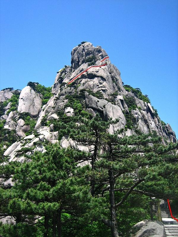 HuangShan 204 StairsStairsStairs