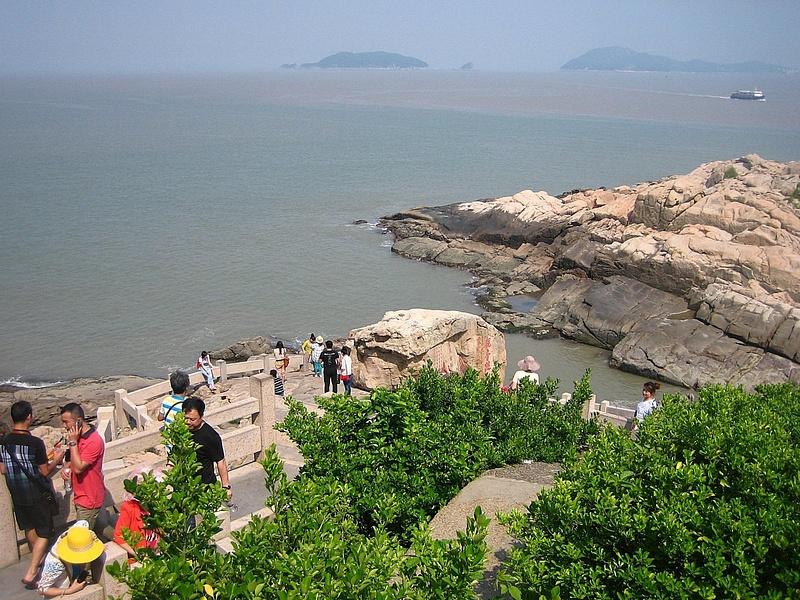 PutuoShan GuanyinFootprint 121