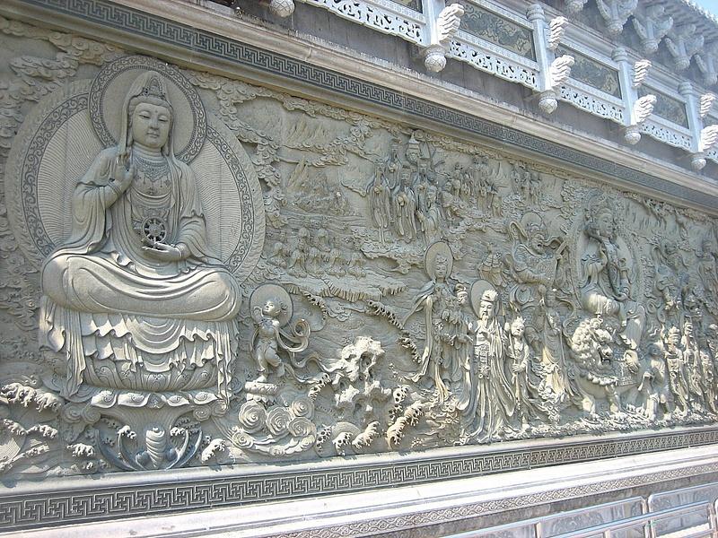 PutuoShan GuanyinStatue Behind 115