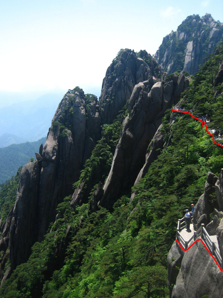 HuangShan 160a justStairs by StefsPictures