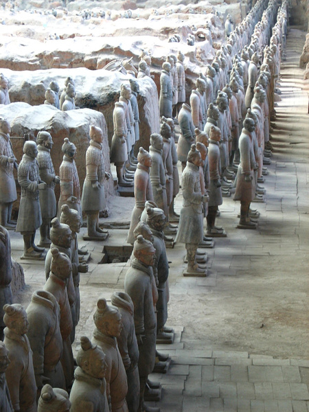 Xian TerracottaArmy 134 by StefsPictures
