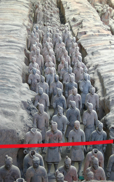 Xian TerracottaArmy 137 by StefsPictures