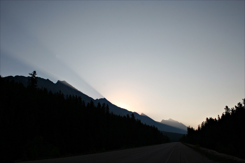 RM 245 Sonnenaufgang am Diadem Peaks
