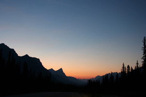 RM 424 Sonnenuntergang am Hector Lake by StefsPictures
