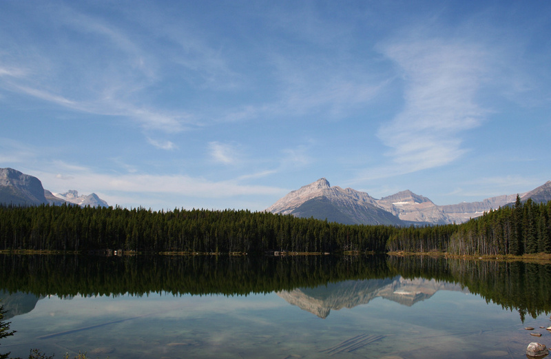 Rocky Mountains - Bow Lake