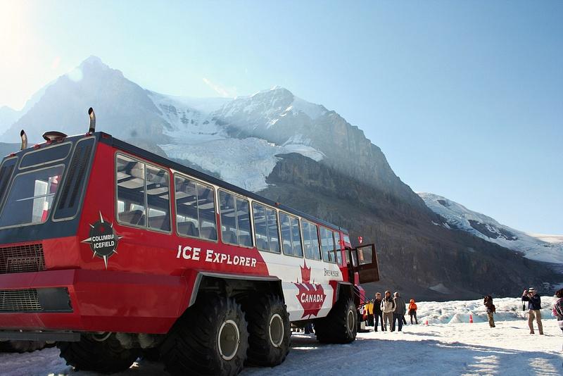 RM 333 Athabasca Gletscher
