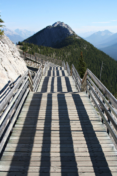 Rocky Mountains - Sulphur Mountain by StefsPictures