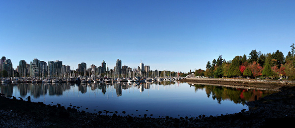 Vancouver 113 Blick vom Stanley Park by StefsPictures