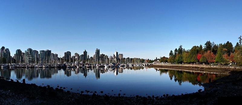 Vancouver 113 Blick vom Stanley Park