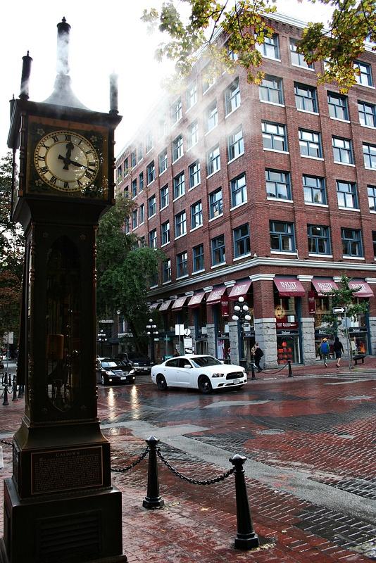 Vancouver 034 Gastown Dampfuhr