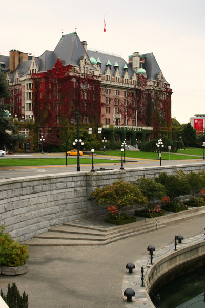 Vancouver 512 Vancouver Island - Victoria - Empress Hotel by StefsPictures