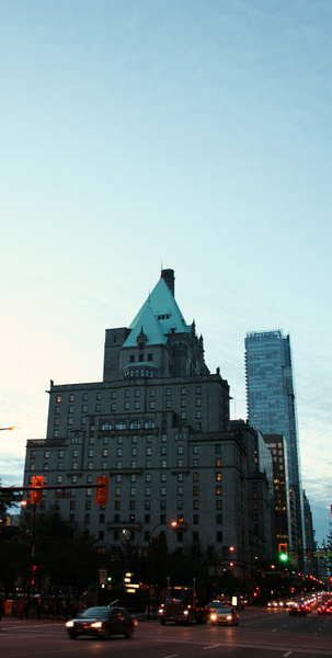 Vancouver 480 Downtown - Fairmont Hotel by StefsPictures