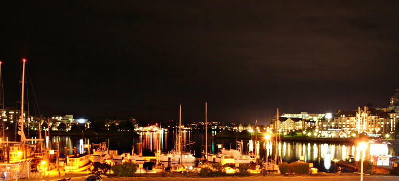 Vancouver 508 Vancouver Island - Victoria - bei Nacht
