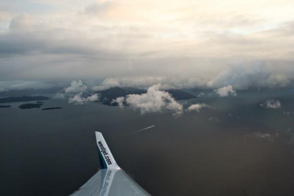 Vancouver 019 Anreise - Kurz vor Vancouver by...