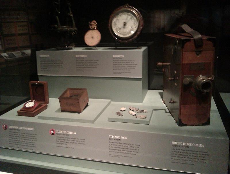 Vancouver 523 Vancouver Island - Victoria - Royal BC Museum - Amundsens Uhr