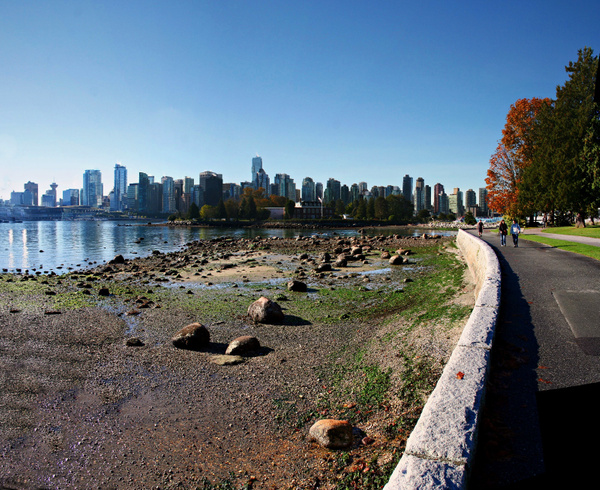 Vancouver 114 Blick vom Stanley Park by StefsPictures