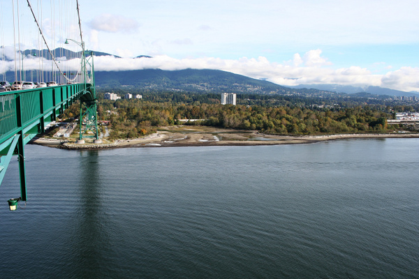 Vancouver 222  Lions Gate Bridge by StefsPictures