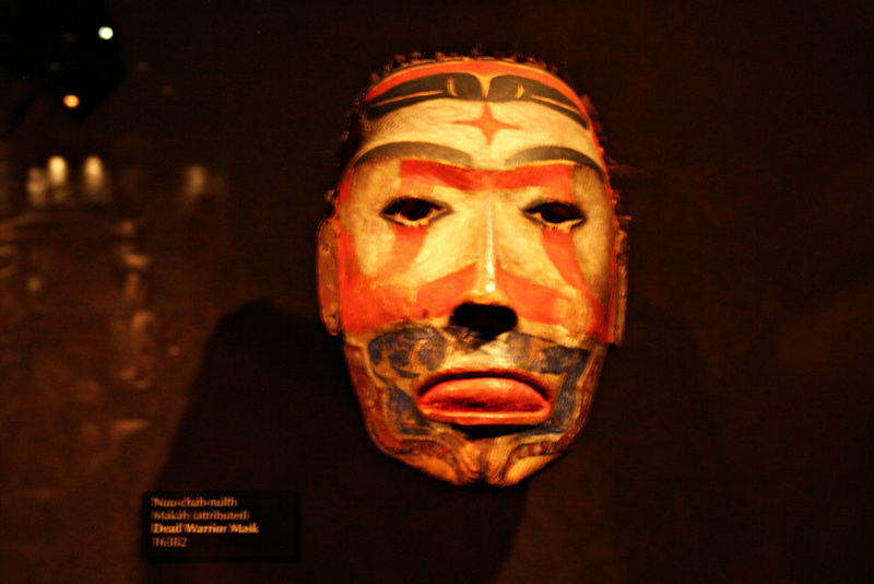Vancouver 528 Vancouver Island - Victoria - Royal BC Museum - Indianerära