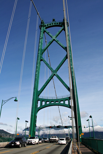 Vancouver 220 Lions Gate Bridge by StefsPictures