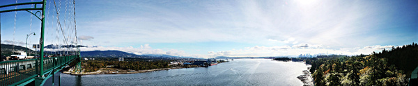Vancouver 237 Lions Gate Bridge by StefsPictures