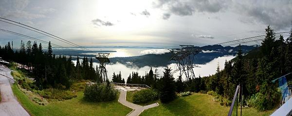 Vancouver 471 Grouse Mountain - Der Ausblick war die Schinderei wert by StefsPictures