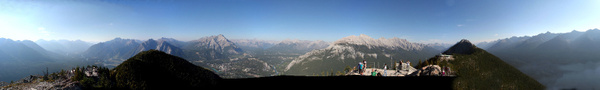 RM 478 Sulphur Mountain Panorama 2 by StefsPictures
