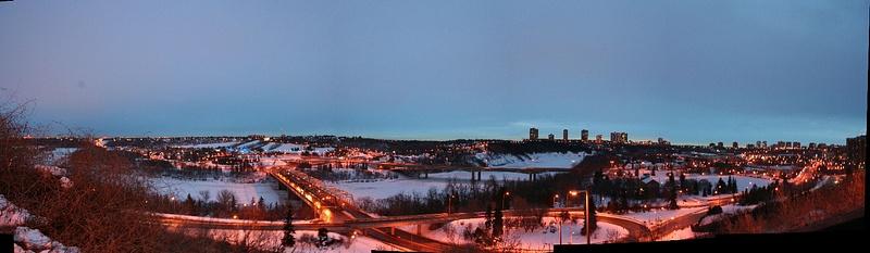 Edmonton 02 Blick von McDougall Hill