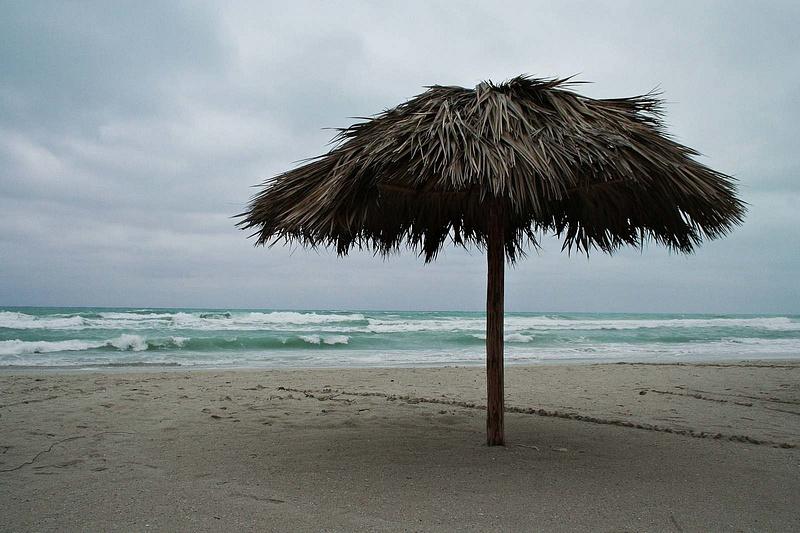 Cuba 049 - Tag 3  Sturm im Paradies