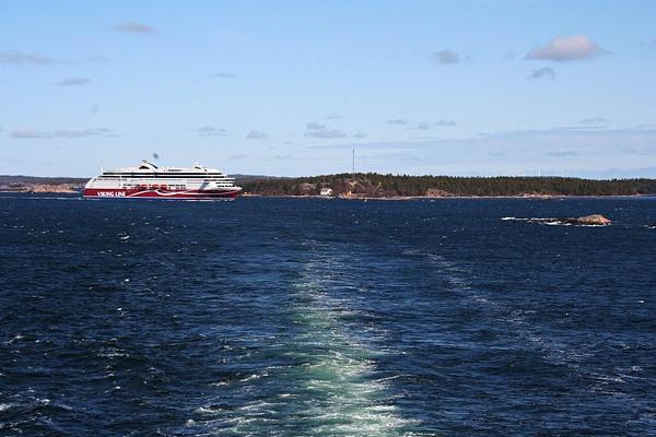 Baltic ferry - auf dem Rueckweg by StefsPictures