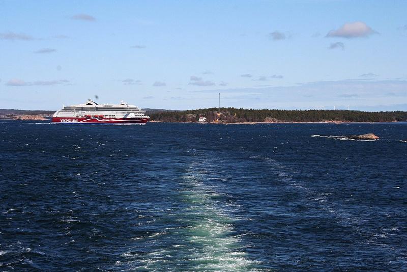 Baltic ferry - auf dem Rueckweg